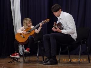 Kонцерт на класовете по китара на музикалните педагози Ангел Жеравински и Васил Виктор