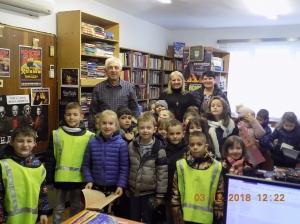 Снимки от посещение на библиотеката