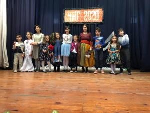 Коледен рецитал  на Детско театрално студио Мъхмарони